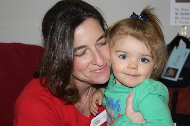 Sophia and  teacher