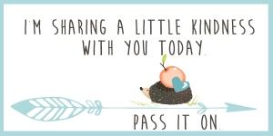 sharinga little kindness